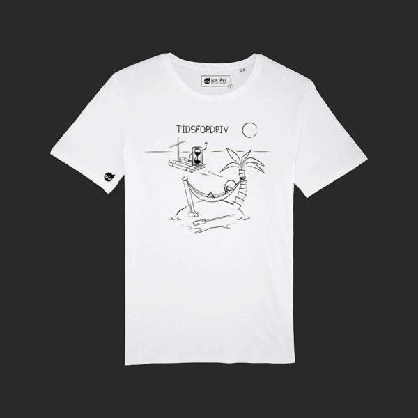 Tidsfordriv T-shirt Hvid