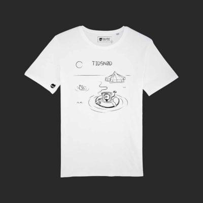 T-shirt Hvid Tidsnød